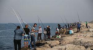مسابقات ماهیگیری در کیش به مناسبت چهلمین سالگرد پیروزی انقلاب اسلامی و دهه مبارک فجر